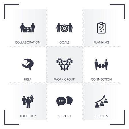 teamwork: TEAMWORK ICON SET