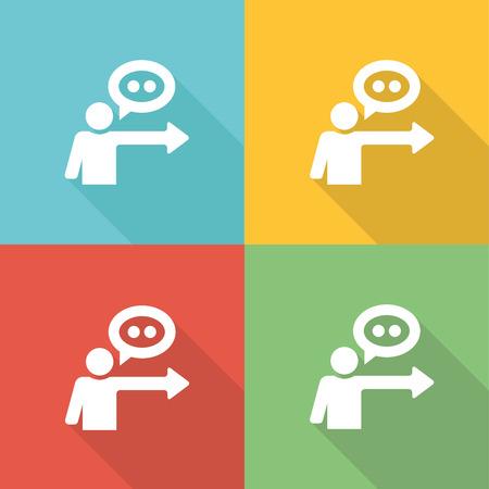 vorschlag: Vorschlag Flat Icon Concept