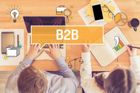 e commerce: B2B CONCEPT