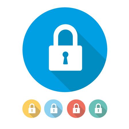 Security Padlock Concept