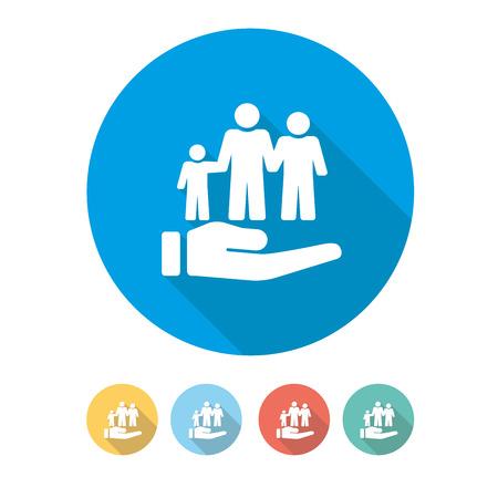 Social Security Concept Stock Illustratie