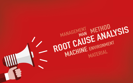 Root Cause Analysis Concept