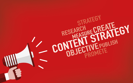 Content Strategy Concept Illustration