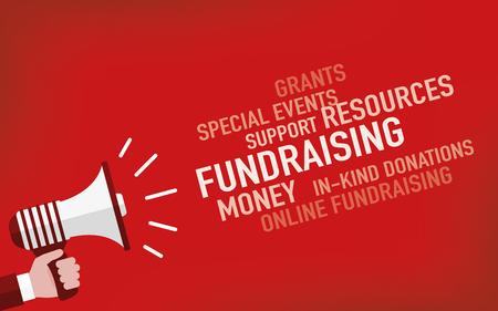 nonprofit: Fundraising Concept