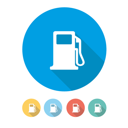 Tankstelle Konzept Standard-Bild - 75928154