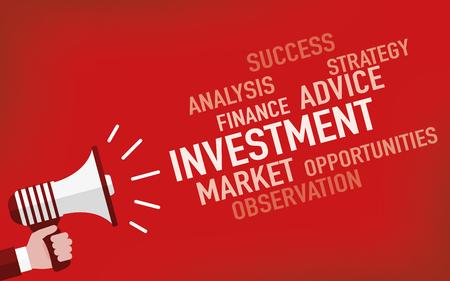 Investment Concept Illusztráció