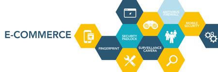 e commerce: E-Commerce Icon Concept