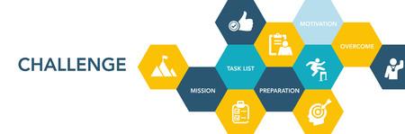 Challenge Icon Concept