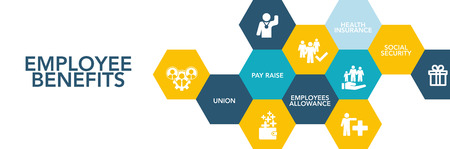 provision: Employee Benef?ts Icon Concept