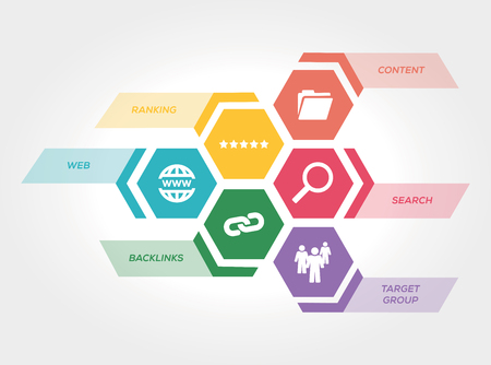 SEARCH ENGINE MARKETING CONCEPT Illustration