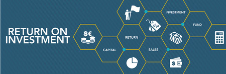Return On Investment Icon Concept Stock fotó - 75886686