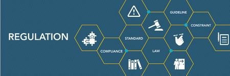 Regulatıon Icon Concept