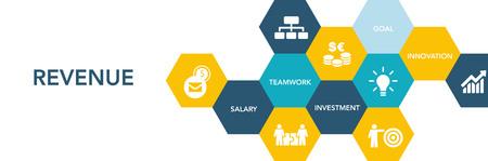Revenue Icon Concept