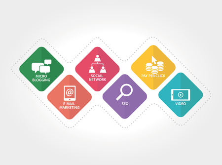 popularity: WEB MARKETING CONCEPT Illustration
