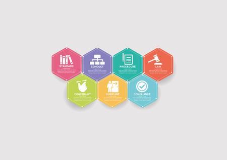 Règlements concept Banque d'images - 76437047