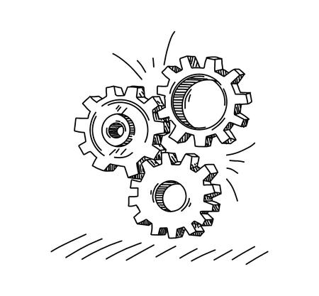 Gear Concept Stock Illustratie