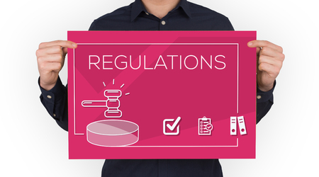 REGULATIONS CONCEPT Stock Photo
