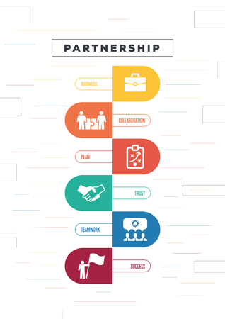 Partnership Concept Иллюстрация
