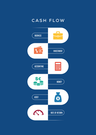 Cashflow Concept Illustration