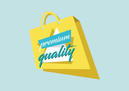 Premium Quality Concept Illustration