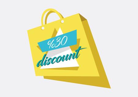 Discount Sale Concept