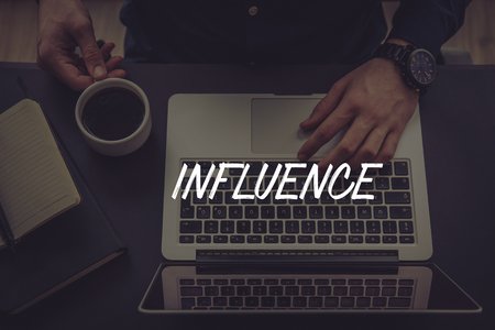 influencer: INFLUENCE CONCEPT