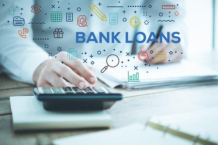 은행 융자 개념 스톡 콘텐츠 - 79654172