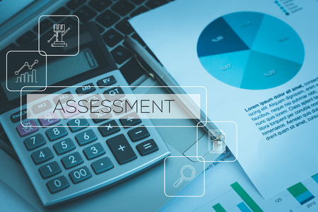 ASSESSMENT CONCEPT Stock Photo