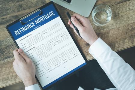 refinancing interest rates: REFINANCE MORTGAGE CONCEPT