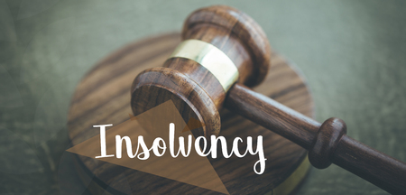 INSOLVENCY CONCEPT Stock Photo