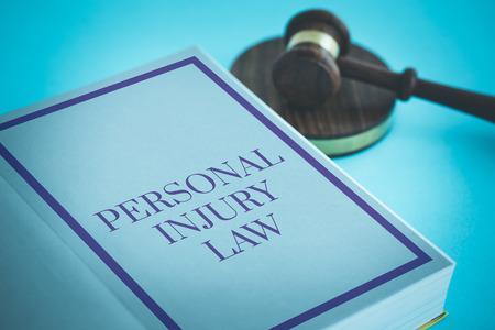 PERSONAL INJURY LAW CONCEPT Foto de archivo