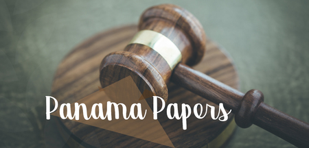 PANAMA PAPERS CONCEPT Stock Photo