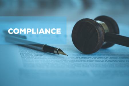 CONCEPT DE CONFORMITÉ Banque d'images - 79873114