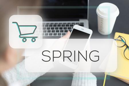 springtime: SPRING CONCEPT Stock Photo