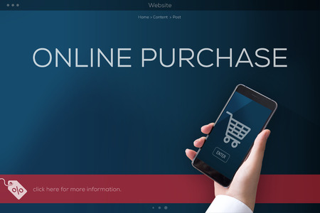 purchase: ONLINE PURCHASE CONCEPT