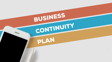 BUSINESS CONTINUITY PLAN CONCEPT Stock Photo