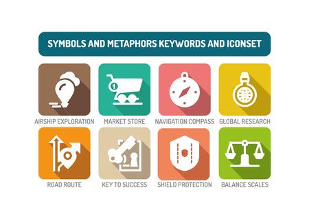 Symbols and Metaphors Concept