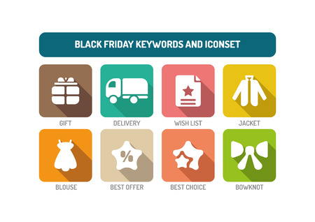 holiday spending: Black Friday Concept