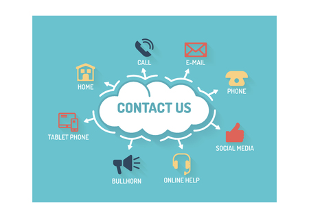 advice: CONTACT US CONCEPT
