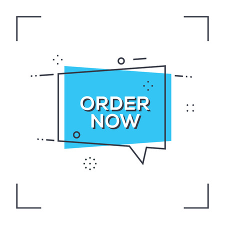 valid: Order Now Concept