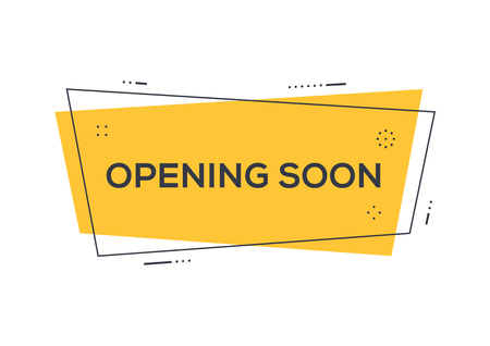 OPENING SOON CONCEPT