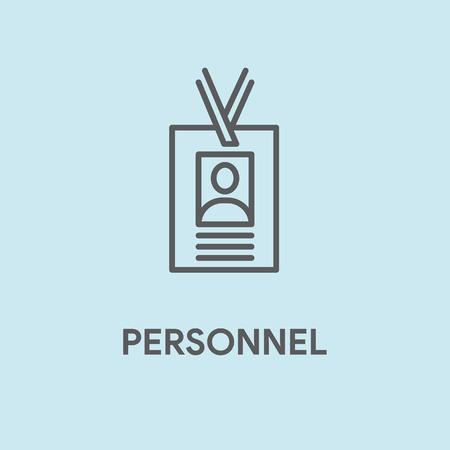 personel: PERSONEL CONCEPT Illustration