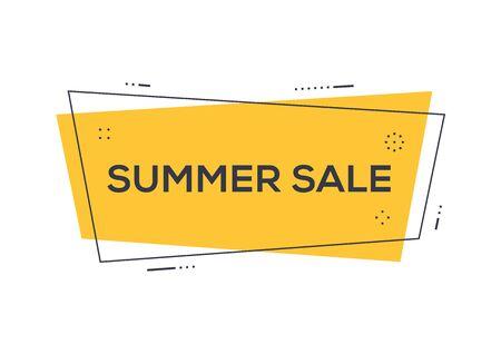 Summer Sale Concept Illustration