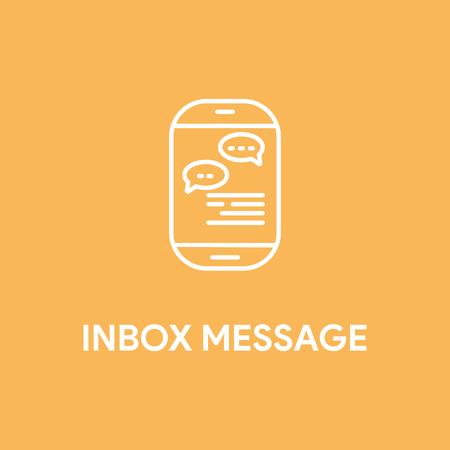 mobile device: INBOX MESSAGE CONCEPT