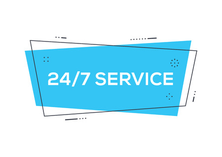 247 Service sign