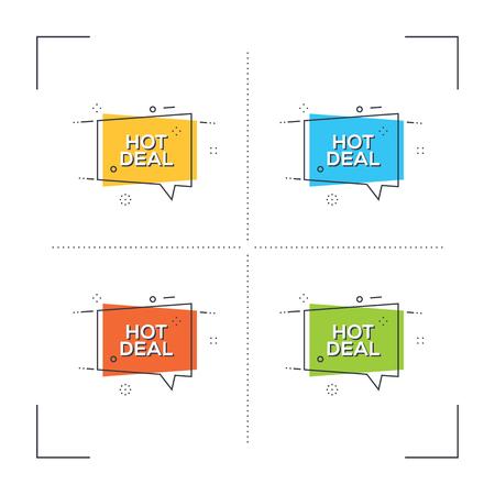 Hot Deal Concept
