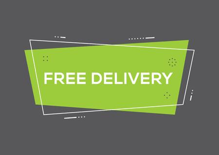 FREE DELIVER CONCEPT 版權商用圖片 - 85861243