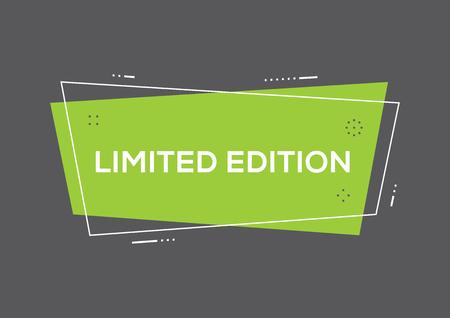Limited edition concept Illustration