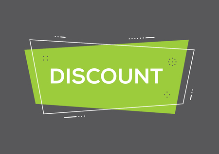 Discount concept Illustration