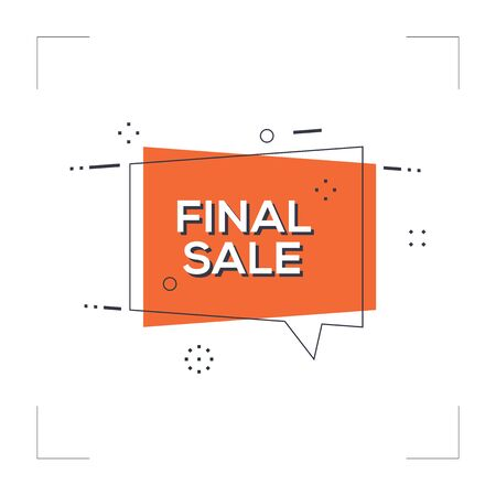 Final Sale Concept Illustration